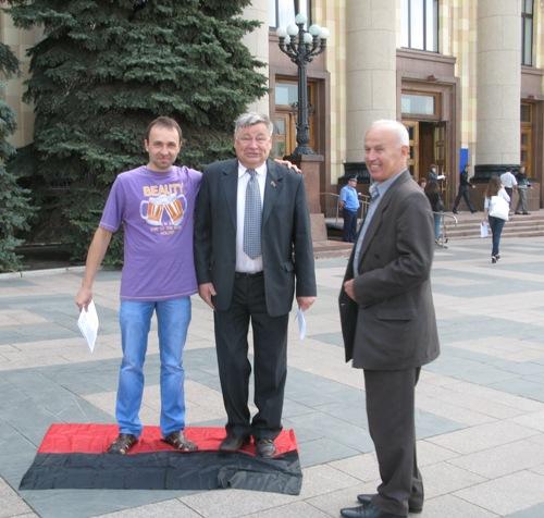 Депутат Харьковского городского совета Владимир Лушницкий