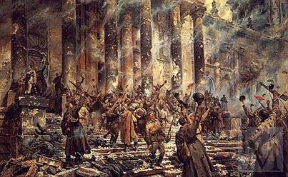 П.А. Кривоногов «Победа», картина 1948 год