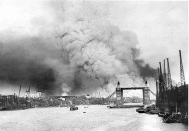 Бомбардировка Лондона немецкой авиацией