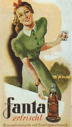 Германии напиток «Фанта»